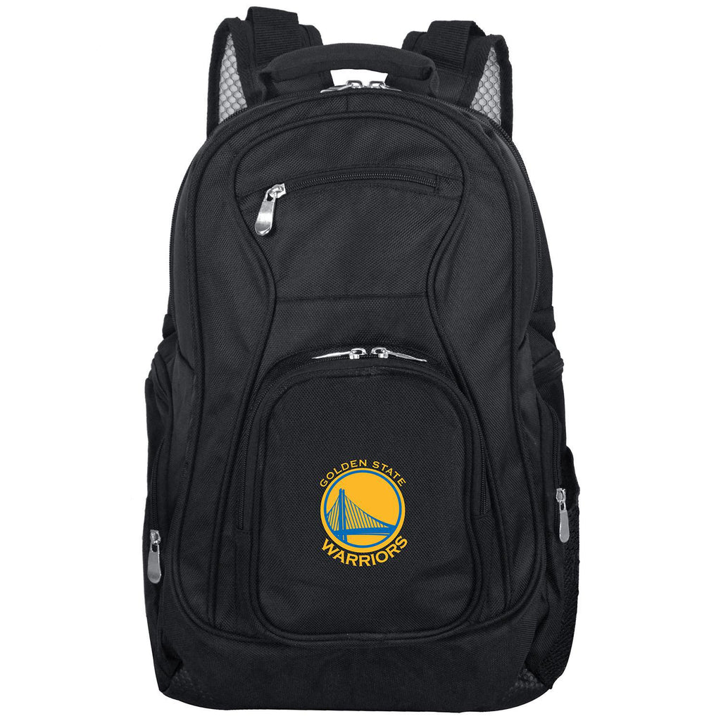 Golden State Warriors Backpack Laptop-BLACK