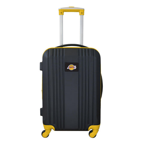 LA Lakers Luggage Carry-on 21in Hardcase two-tone Spinner 100% ABS-YELLOW