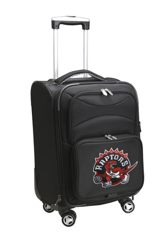 Toronto Raptors Luggage Carry-On 21in Spinner Softside Nylon-BLACK