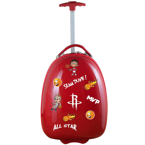 Houston Rockets Kids Luggage-RED