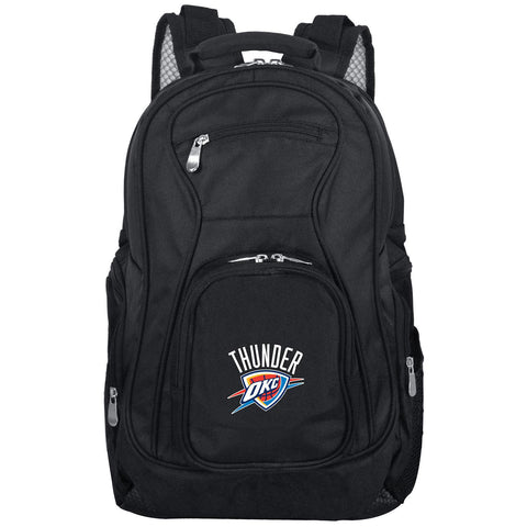 OKC Thunder Backpack Laptop-BLACK