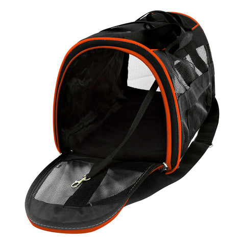 OKC Thunder Pet Carrier Premium 16in bag-Orange