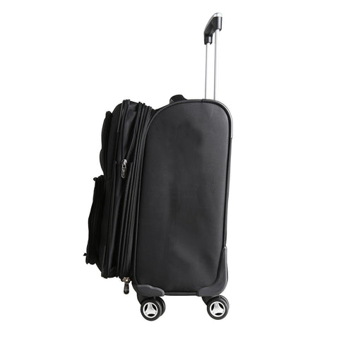Los Angeles Chargers  Luggage Carry-On 21in Spinner Softside Nylon-BLACK