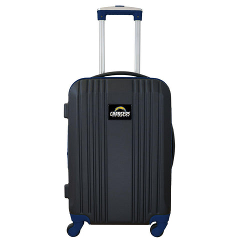 Los Angeles Chargers  Luggage Carry-on 21in Hardcase two-tone Spinner 100% ABS-NAVY
