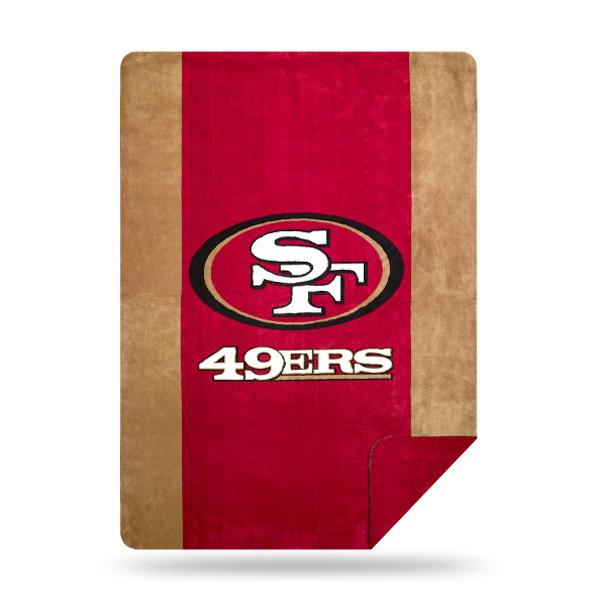 85b89da3248915 San Francisco 49ers NFL Denali® Sliver Knit Throw – Fan Shop HQ