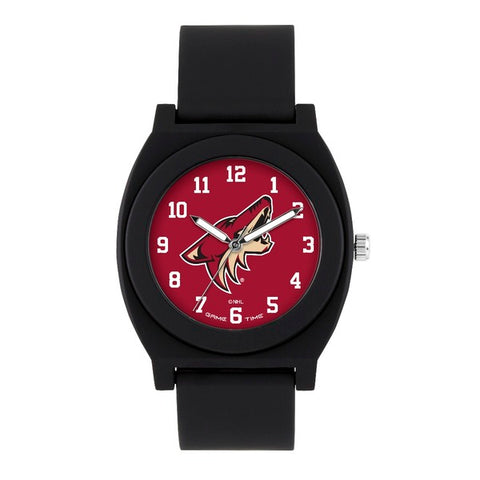 Arizona Coyotes Analog Fan Black Unisex Watch