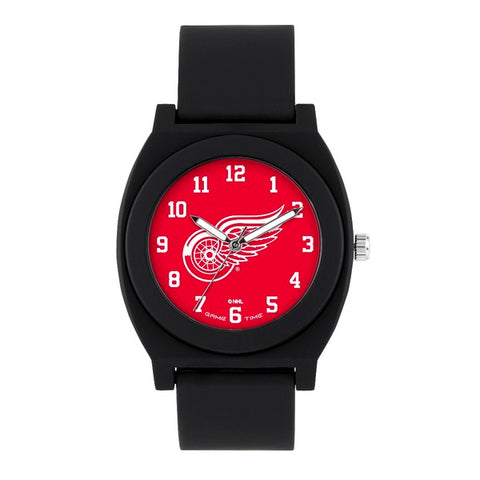 Detroit Red Wings Analog Fan Black Unisex Watch