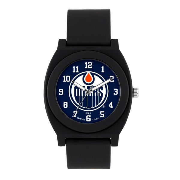 Edmonton Oilers Analog Fan Black Unisex Watch