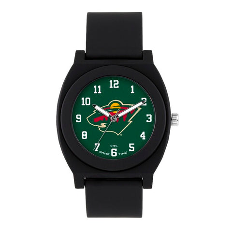 Minnesota Wild Analog Fan Black Unisex Watch