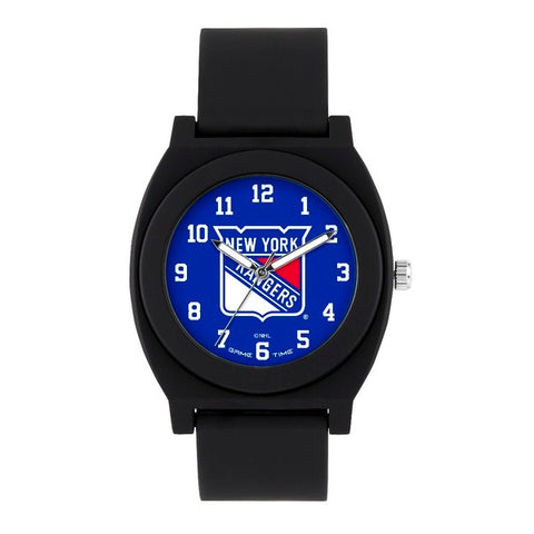 New York Rangers Analog Fan Black Unisex Watch
