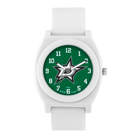 Dallas Stars Analog Fan White Unisex Watch