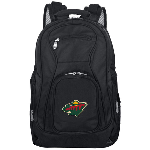 Minnesota Wild Backpack Laptop-BLACK