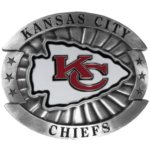 Kansas City Chiefs   Oversized Belt Buckle
