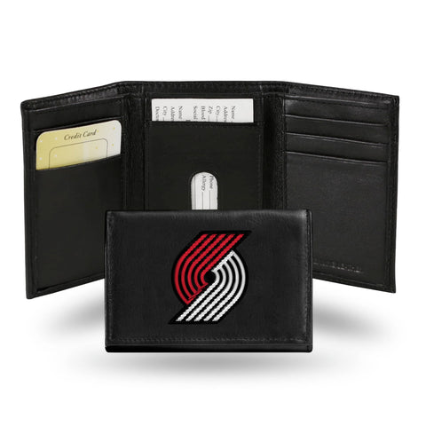 Portland Trail Blazers Trifold Wallet - Embroidered