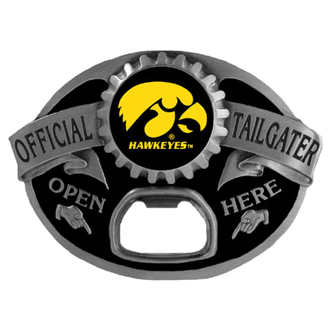 Iowa Hawkeyes   Tailgater Belt Buckle