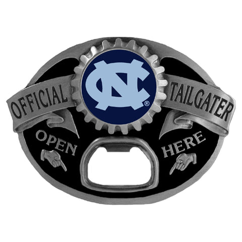 N. Carolina Tar Heels Belt Buckle - Tailgater