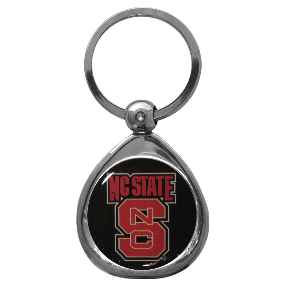 N. Carolina St. Wolfpack Chrome Key Chain