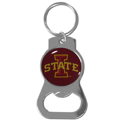 Iowa St. Cyclones Bottle Opener Key Chain