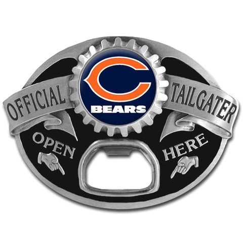 Chicago Bears   Tailgater Belt Buckle