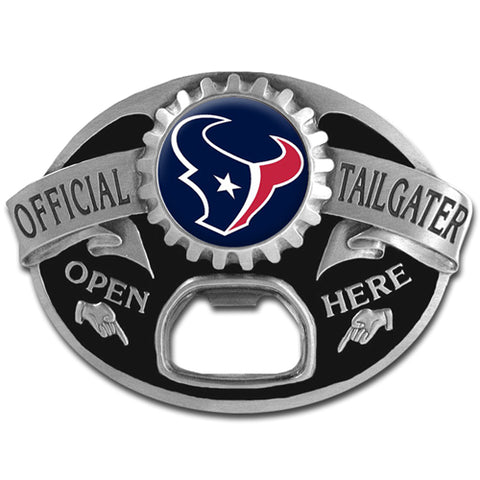 Houston Texans   Tailgater Belt Buckle