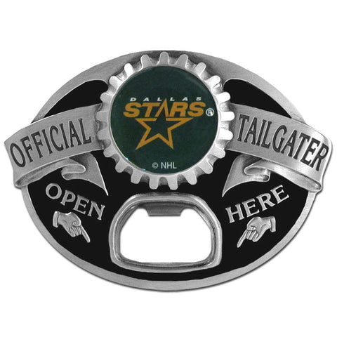 Dallas Stars   Tailgater Belt Buckle