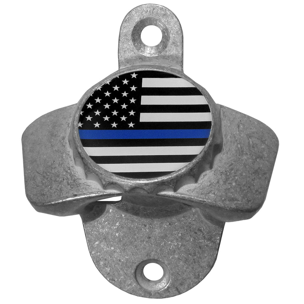 Air Force Falcons  Thin Blue Line  Flag Wall Mounted Bottle Opener