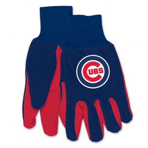 Chicago Cubs - Adult Two-Tone Sport Utility Gloves