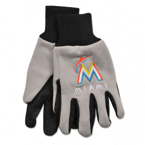 Miami Marlins - Adult Two-Tone Sport Utility Gloves