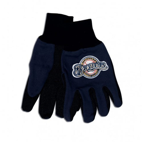 Milwaukee Brewers - Adult Two-Tone Sport Utility Gloves