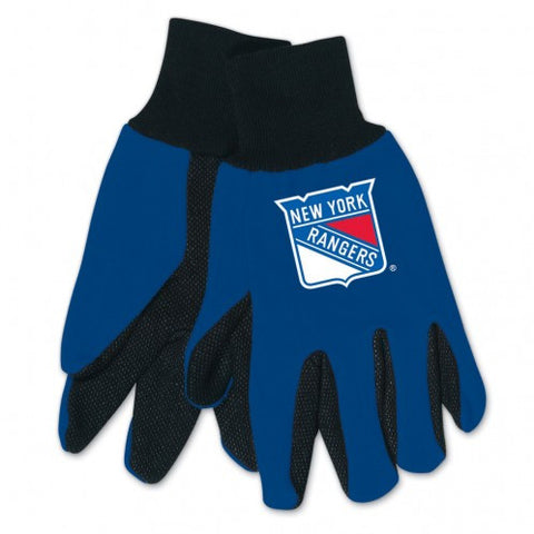New York Rangers - Adult Two-Tone Sport Utility Gloves