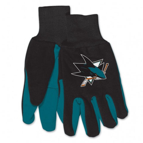 San Jose Sharks - Adult Two-Tone Sport Utility Gloves