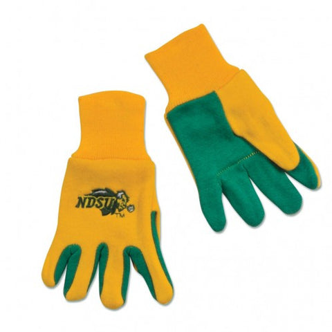 North Dakota State Bison - Adult Two-Tone Sport Utility Gloves
