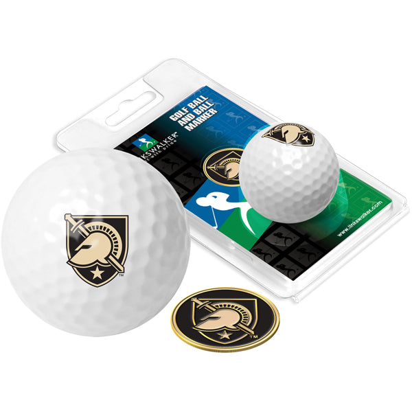 Army Black Knights Golf Ball One Pack with Marker