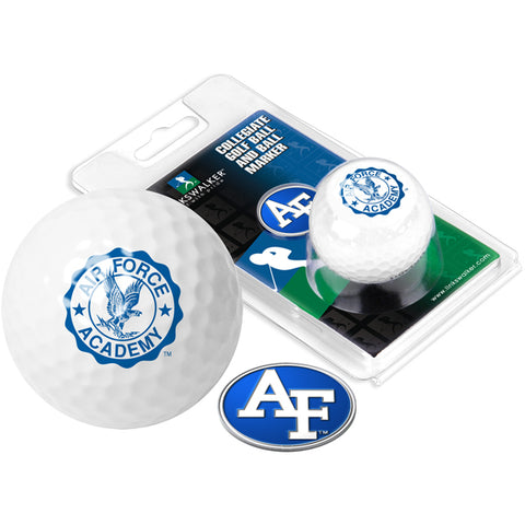 Air Force Falcons Golf Ball One Pack with Marker