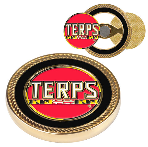 Maryland Terrapins Challenge Coin / 2 Ball Markers