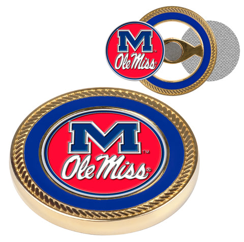 Mississippi Rebels - Ole Miss Challenge Coin / 2 Ball Markers