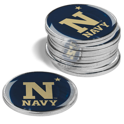 Naval Academy Midshipmen 12 Pack Ball Markers