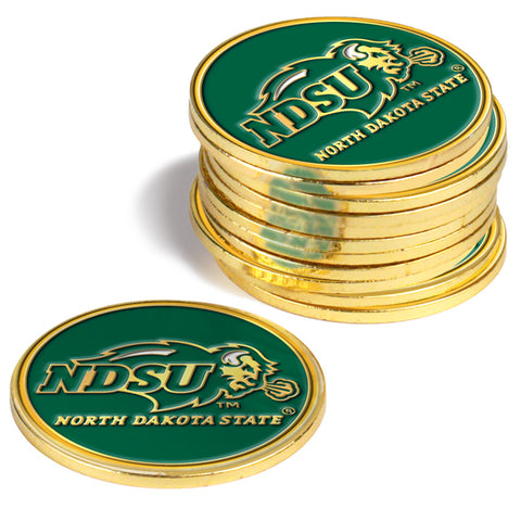 North Dakota State Bison 12 Pack Ball Markers