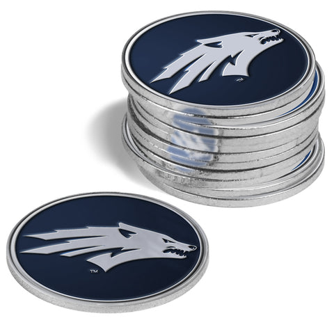 Nevada Wolfpack 12 Pack Ball Markers