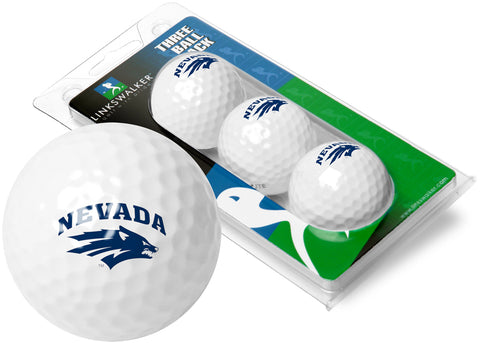 Nevada Wolfpack 3 Golf Ball Sleeve