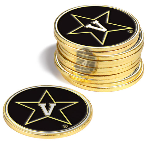 Vanderbilt Commodores 12 Pack Ball Markers
