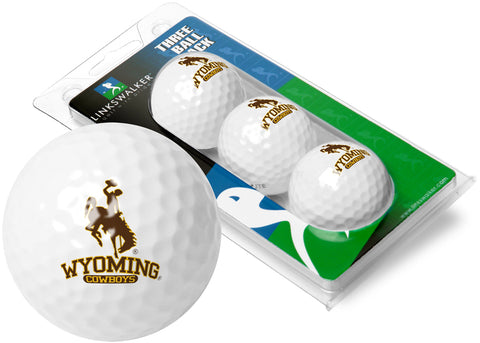 Wyoming Cowboys 3 Golf Ball Sleeve