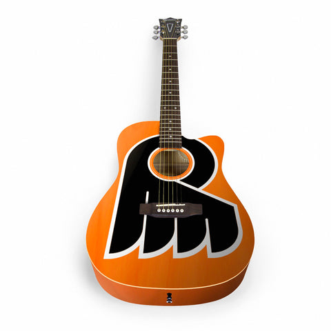 NHL Philadelphia Flyers Acoustic Guitar