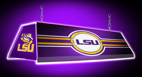 "LSU Tigers 46"" EdgeGlow Pool Table Billiards Light"
