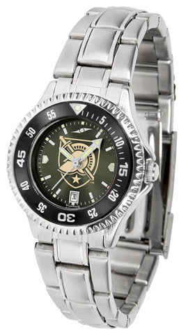 Army Black Knights - Competitor Ladies' Steel AnoChrome  -  Color Bezel Watch