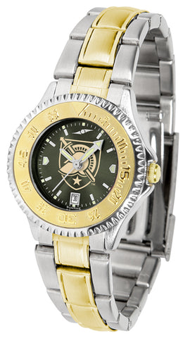 Army Black Knights - Competitor Ladies Two - Tone AnoChrome Watch