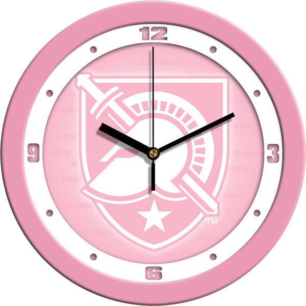 Army Black Knights - Pink Wall Clock