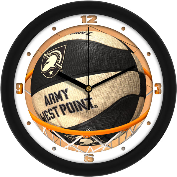 Army Black Knights - Slam Dunk Wall Clock