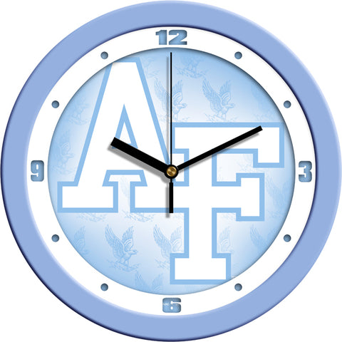 Air Force Falcons-Baby Blue Wall Clock