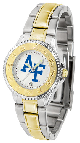 Air Force Falcons - Competitor Ladies Two - Tone Watch